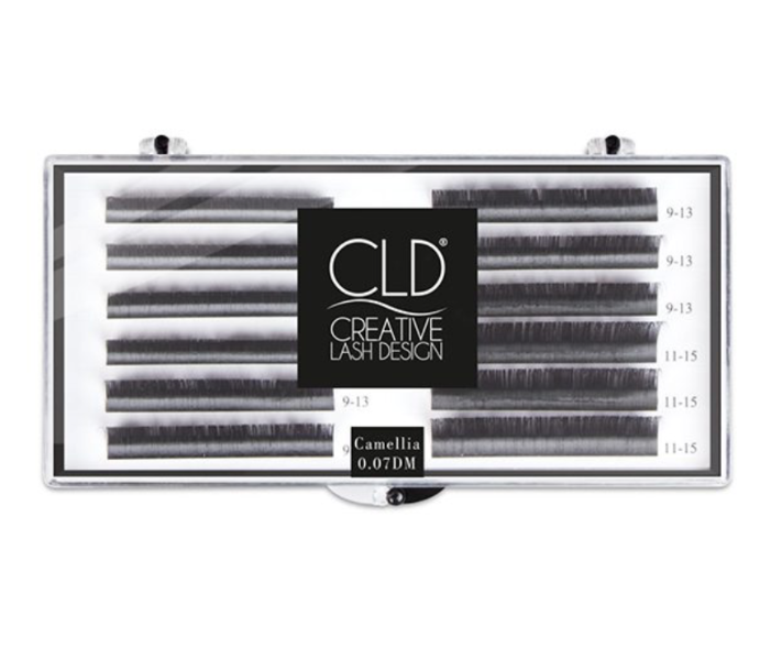 D-curl Camelia Star Lashes (MIX 7-9-11mm,9-11-13mm,11-13-15mm) - 01